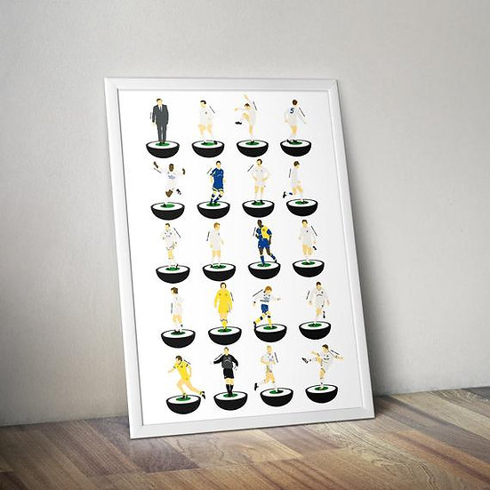 Leeds United Football Club A3 Print