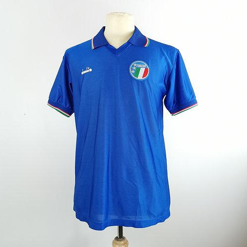 Italy 1986-90 Home - 2 Sizes - (Baggio) #15
