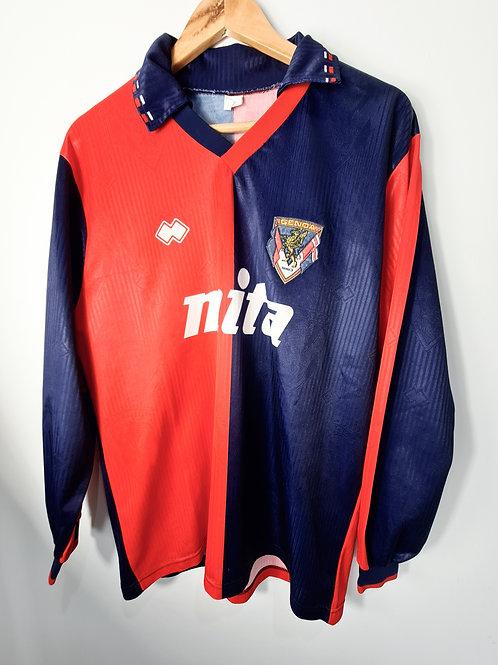 Genoa 1991-92 L/S Home Shirt - Size XL
