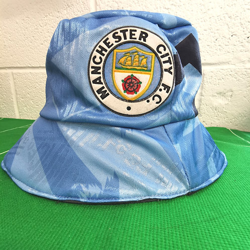 Manchester City 1991-93 Home Bucket Hat
