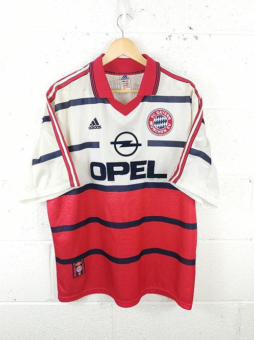 Bayern Munich 1998-00 Away - Size XL - Basler 14