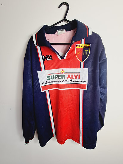 AS Nuceria Calcio L/S Matchworn - Size S - Number 16