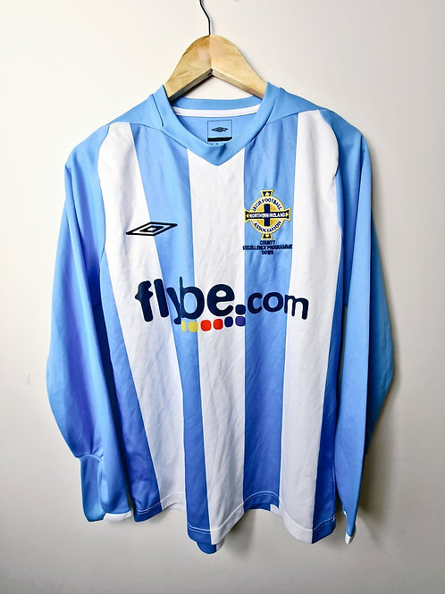 Northern Ireland 2008 L/S County Excellence Shirt - Size S - #7