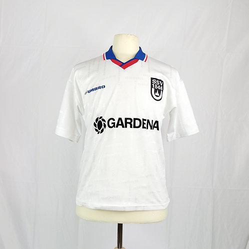 SSV Ulm 1846 2001-02 Signed Home Shirt  - Size S - Van De Haar 9