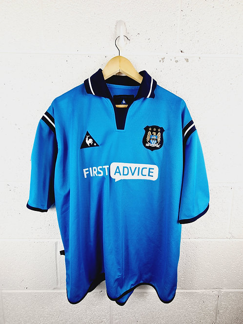 Manchester City 2000-01 Home - Size XL
