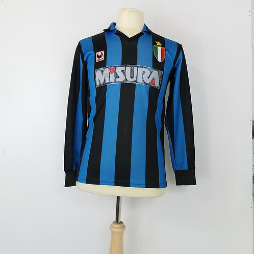 Inter Milan 1989-90 L/S Home - Size M