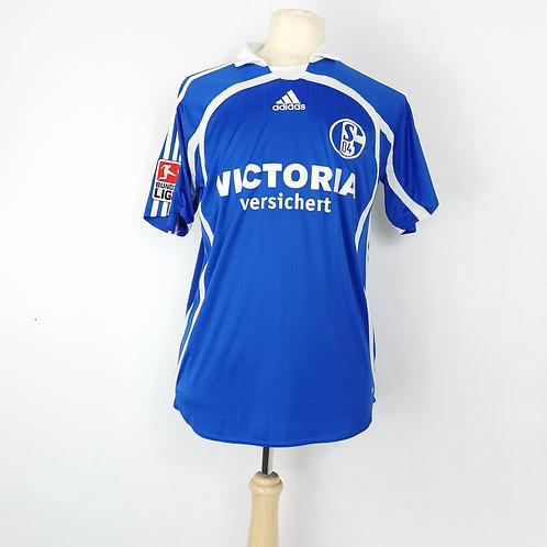 Schalke 04 2007-08 Home - Size M - Kuranyi 22
