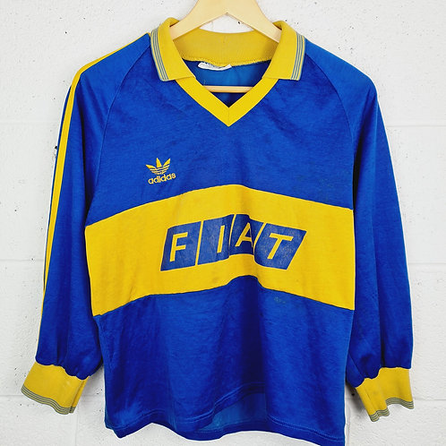 Boca Juniors L/S 1989-91 Home - Size S