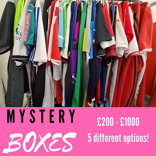 Mystery Boxes - 5 Different Options
