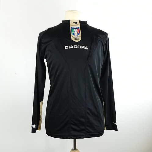 Italy FIGC L/S Referee Shirt - Size S