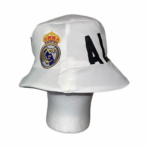 Real Madrid 2009-10 Home Bucket Hat - Xabi Alonso