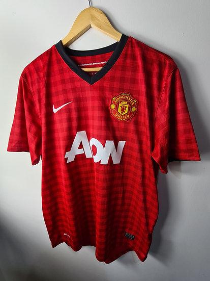 Manchester United 2012-13 Home Shirt - Size L - Van Persie 20