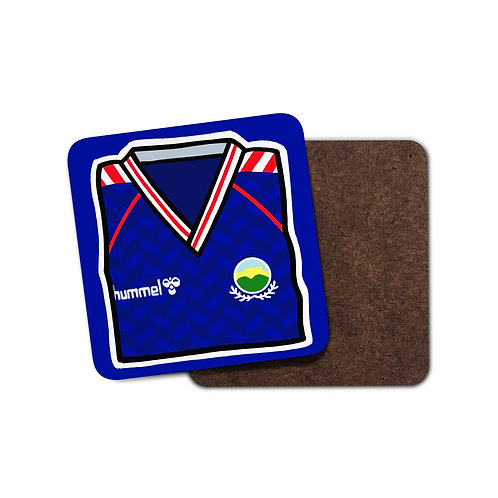 Linfield Coaster - 1986 Home