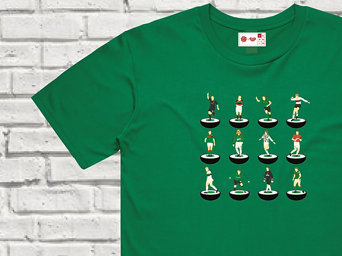 Glentoran Subbuteo Legends T-Shirt - 4 Colours Available
