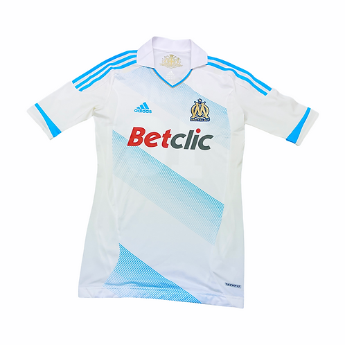 Olympique Marseille 2011-12 Player Issue Home - Size L - Gignac 10