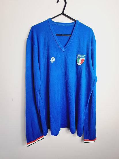 Italy 1980's Pouchain Shirt - Size M/L