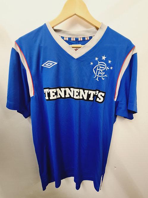 Rangers 2011-12 Home Shirt - Size L