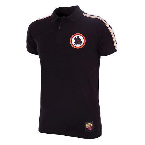 AS Roma Copa Black Polo Shirt - Multiple Sizes