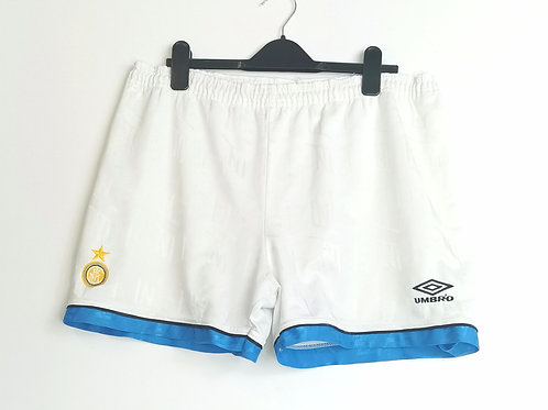 Inter Milan 1993-94 Away Shorts - Size L/XL
