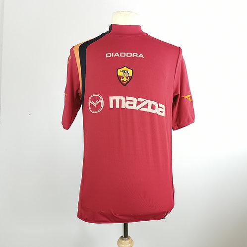 AS Roma 2004-05 Home - Size L - De Rossi 4