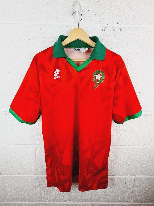 Morocco 1995-96 Home - Size XL