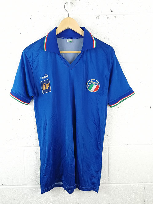 Italy 1986-90 Diadora Player Issue Training Shirt - Size L