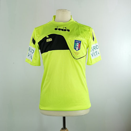 Italy FIGC Referee Shirt - Size S