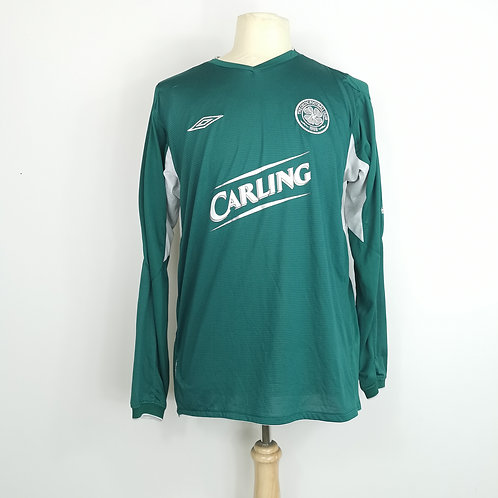 Celtic 2004-05 L/S Away - Size L