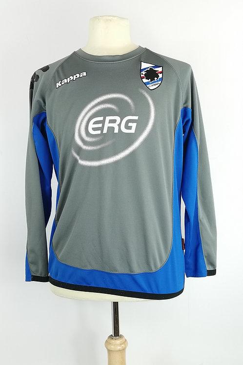 Sampdoria Kappa L/S Training Shirt - Size M