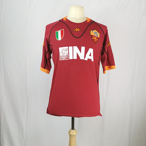 AS Roma 2001-02 Home - Size XXL - Totti 10