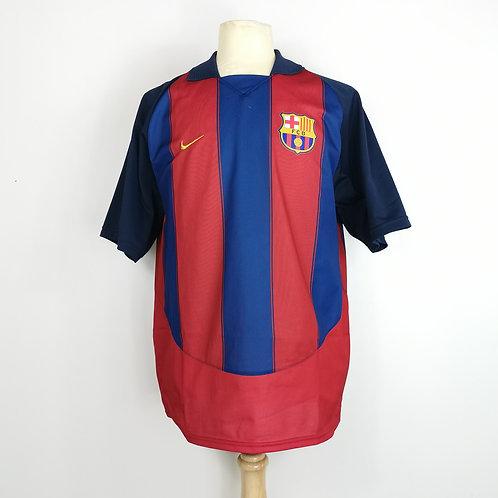 Barcelona 2003-04 Home - Size XL