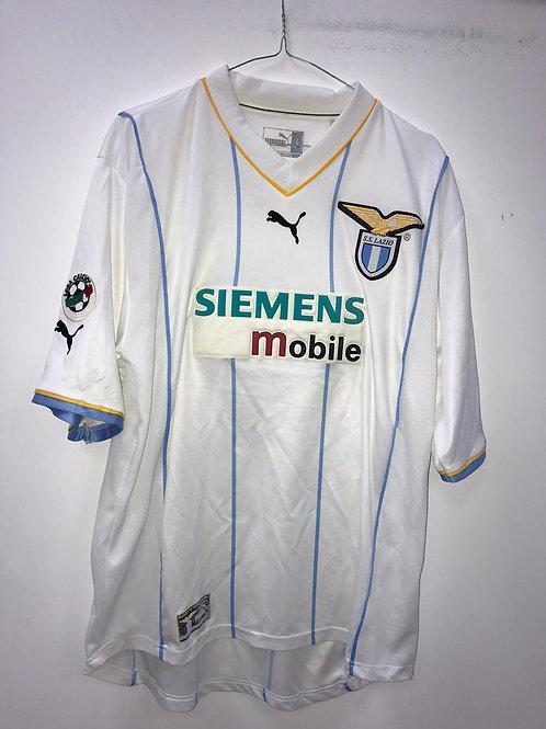 Lazio 2001-02 Away - Size L - Fiore 9