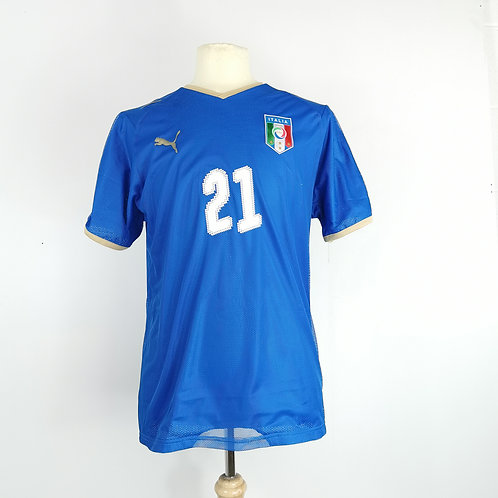 Italy 2007-08 Home - Size M - Pirlo 21