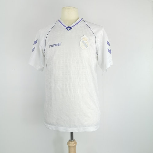 Real Madrid 1990-91 Home - Size L