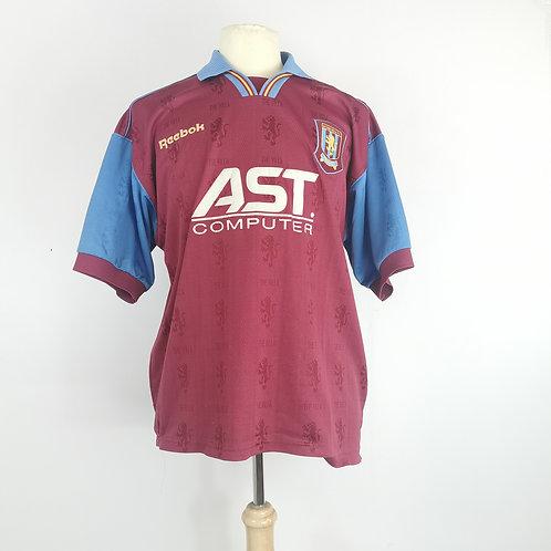Aston Villa 1995-97 Home - Size L