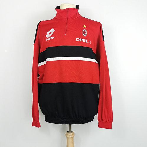 AC Milan 1995-96 Training Jacket - Size XL