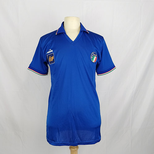 Italy 1986-90 Diadora Player Issue Home - Size L