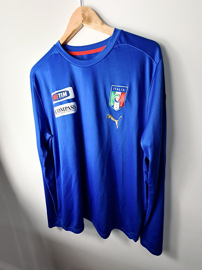 Italy 2008 L/S Training Top - Size XL