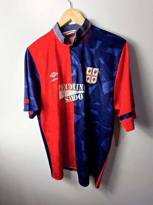 Cagliari 1992-93 Home - Size XL
