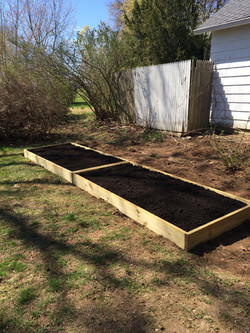 Built Garden Boxes in New London, CT