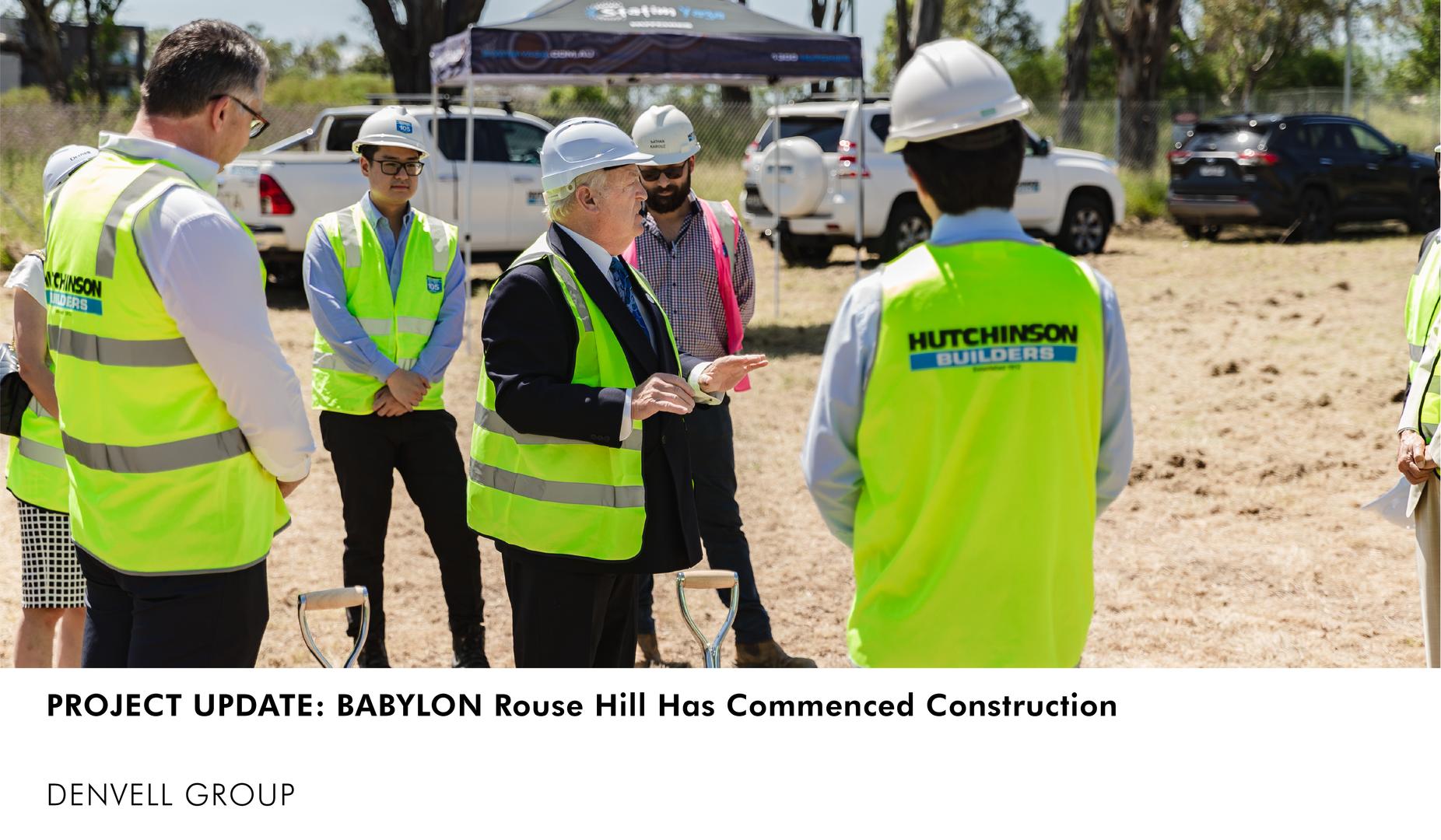 Hutchinson Builders Babylon Rouse Hill