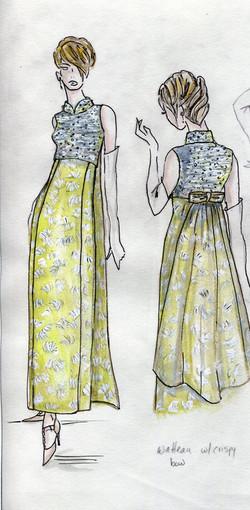 Watteau dress color003