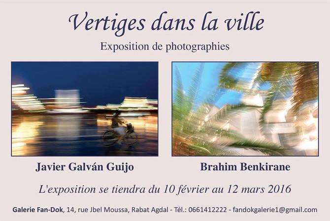 Exposé à la galerie Fan-Dok de Rabat