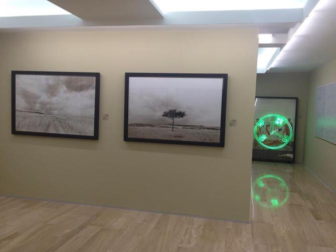 Exposé à l'Espace d'Art Société Générale de Casablanca