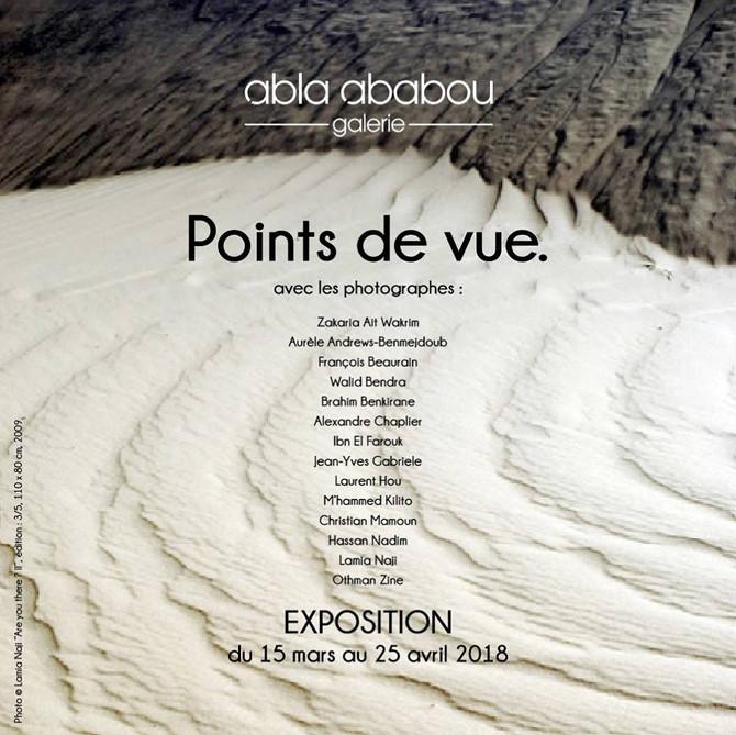Exposé à Abla Ababou galerie Rabat