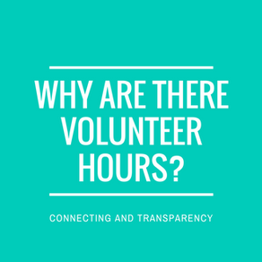 Why require volunteer hours?