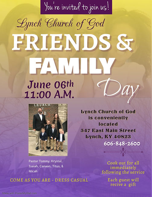 IMPACT Friends and Family Day - Made wit