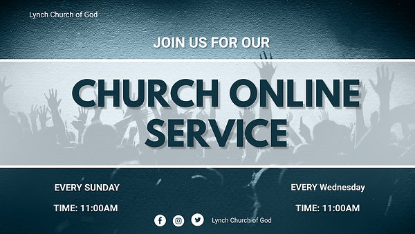 Copy of Church Online - Made with Poster