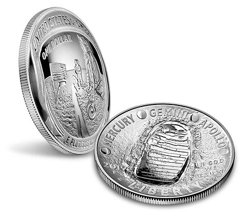 Apollo 11 50th Anniversary Half Dollar - LIMITED TIME!