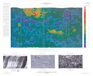 Venus: Altimeric and Shade Relief